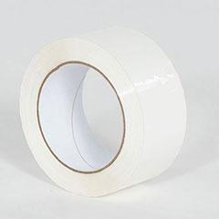 """2"""" x 110 yds. 1.9 Mil White Carton Sealing Tape (36/Case)"""