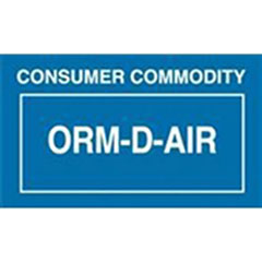 ORM-D Labels