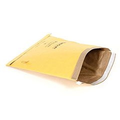 "#2 - 8 1/2 x 12"" Kraft Self-Seal Padded Mailer (100/Case)"