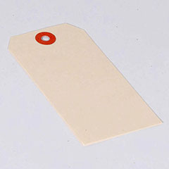 15 Point Plain Jumbo Manila Tags