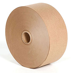 "3"" x 375' 90# Kraft CONVOY Heavy Duty Paper Gum Tape (10/Case)"