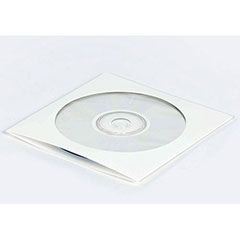 """5 x 5""""  #CD2PS CD Mailer with Window White Self-Seal (500/Case)"""