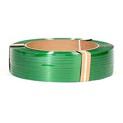 "5/8"" x 4,000' .035 1400# 16 x 6 Smooth Green Polyester Strapping (each)"