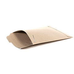 "6 x 8""  #1SFK Kraft Tab-Lock Original Stayflats® Mailer (100/Case)"