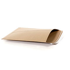 "12 3/4 x 15""  #4 PSK Kraft Self-Seal Stayflats® Plus Mailer (100/Case)"