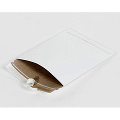 """18 x 24""""  #11PSW White Self-Seal Stayflats® Plus Mailer (50/Case)"""