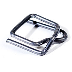 "1/2"" Wire Poly Strapping Buckles #8PG0500B / #SB12SD"