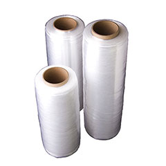 "15"" x 1,476' 25 GA. Pre-Stretch VMAXX Hand Stretch Film (4/Case)"