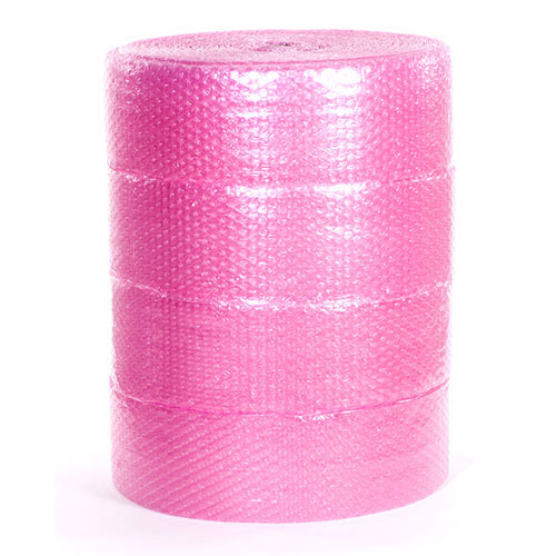 "1/2"" 48"" x 250' Anti-Static Slit 12"" Perfed 12"" Large Bubble  (4 rolls/bundle)"