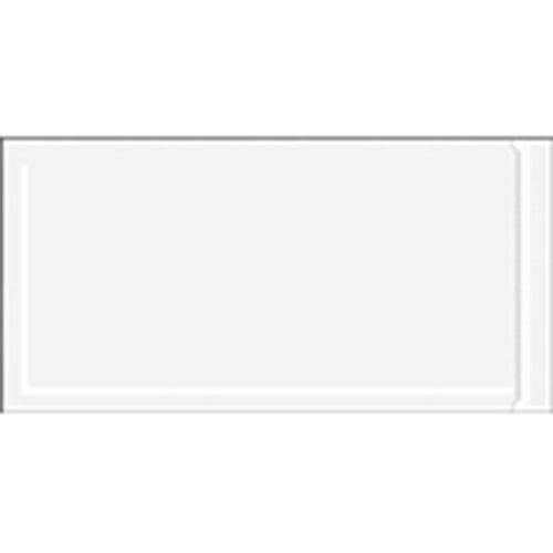 "6 x 9"" Clear Face Document Envelope — Resealable/Zipper (1000/case)"