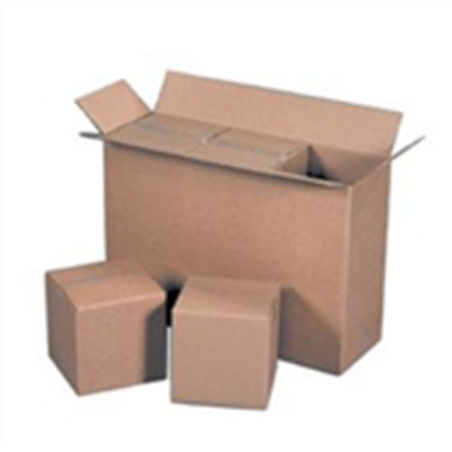 8 3/4 x 4 3/8 x 9 1/2  32ECT Master Carton holds 4-Pack of 4x4x4 Boxes