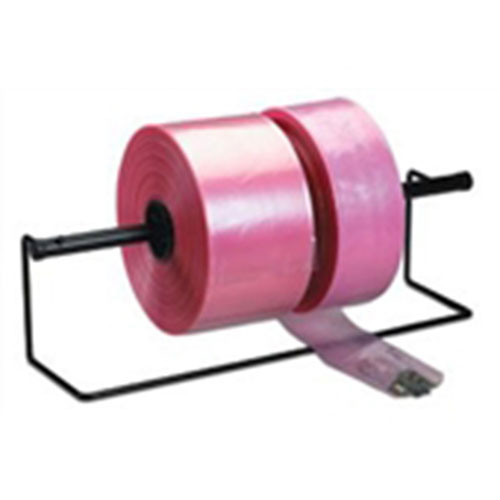 "4"" X 1,075' 4 Mil Pink Heavy-Duty Anti-Static Poly Tubing"