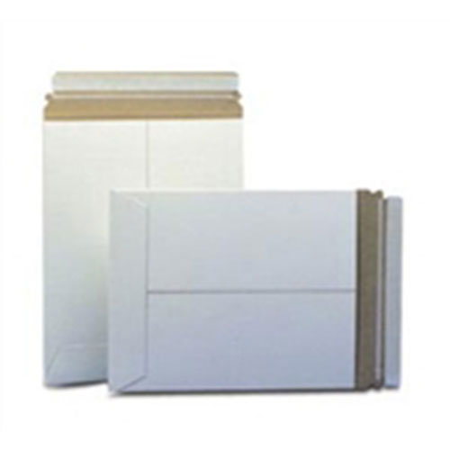 "7 x 9""  #10PSW White Self-Seal Stayflats® Plus Mailer (100/Case)"