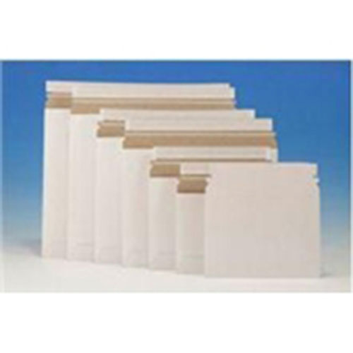 "9 x 7""  #10SL White Side-Loading Self-Seal Stayflats® Lite Mailer (200/Case)"