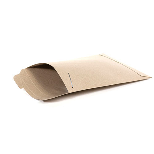 "17 x 21""  #7SFK Kraft Tab-Lock Original Stayflats® Mailer (50/Case)"