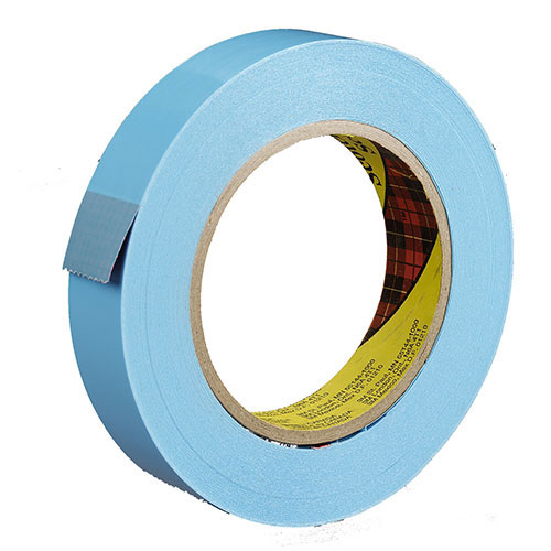 "1/2"" x 60 yds. 4.6 Mil Blue 160 lbs Tensile Strength 3M #8898 Scotch® Polypropylene Stapping Tape (72/case)"