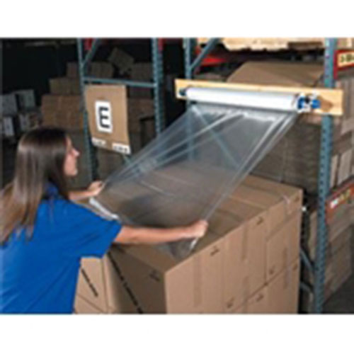 """60 x 60"""" 1 1/4 Mil Economy Clear Top Sheeting"""