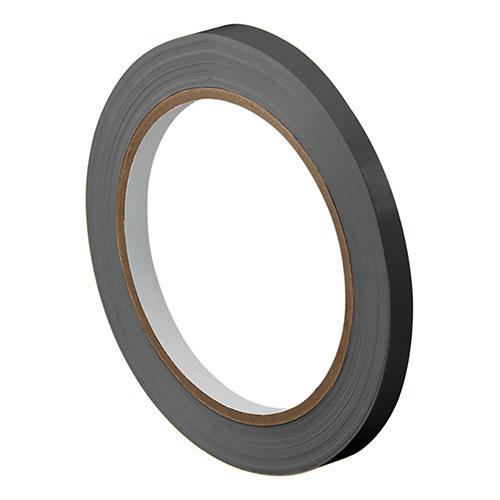 """1/4"""" X 36 yds. 5.2 Mil Black 3M #471 Safety Tape (3/Case)"""